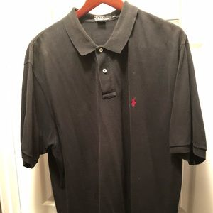 Black pullover Polo shirt